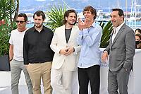 CANNES, FRANCE. July 13, 2021: Cyril Lecomte, Karim Leklou, Francois Civil, Cedric Jimenez & Gilles Lellouche at the photocall for Bac Nord at the 74th Festival de Cannes.<br /> Picture: Paul Smith / Featureflash