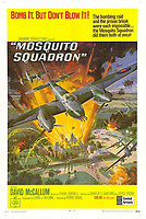 BNPS.co.uk (01202 558833)<br /> Pic: BNPS<br /> <br /> Pictured: Mosquito Squadron film poster.<br /> <br /> The medals of a hero of the legendary Operation Jericho raid who dive-bombed a Gestapo prison at just 10ft have sold for over £15,000.<br /> <br /> Flight Lieutenant Maxwell Sparks pulled off the daring manoeuvre during the daylight attack on the heavily-defended Amiens Prison in northern France in February 1944.<br /> <br /> Positioned third in the attack's first wave, he bombarded the German guards' quarters at 'tree-top height' then ascended just in time to miss the prison's roof.