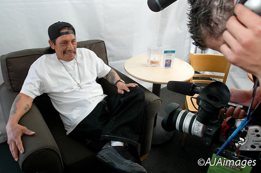 AJ Alexander - Danny Trejo (Machete) is an American Actor who has appeared in numerous Hollywood films.  .Photo by AJ Alexander