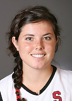 STANFORD, CA - AUGUST 14:  Katie Mitchell of the Stanford Cardinal women's field hockey team poses for a headshot on August 14, 2008 in Stanford, California.