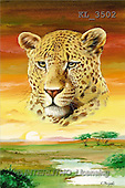 Interlitho, Luis, FANTASY, paintings, leopard's head, KL, KL3502,#fantasy# illustrations, pinturas