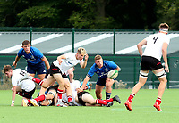 Saturday 5th September 2021<br /> <br /> Jonny McCracken during U18 Schools inter-pro between Ulster Rugby and Leinster at Newforge Country Club, Belfast, Northern Ireland. Photo by John Dickson/Dicksondigital