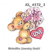 CUTE ANIMALS, LUSTIGE TIERE, ANIMALITOS DIVERTIDOS, paintings+++++,KL4572/3,#ac#, EVERYDAY sticker,stickers