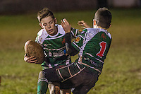 Thursday 02 February 2017<br /> Pictured: Players in action on the Field <br /> Re: Rugby is a game packed with maths and science Chris Rosser has been showing how this Youth team at Uplands Rugby Club in Swansea uses its love of the game to make maths count.NO SYNDICATION<br /> NO THIRD PARTY SYNDICATION