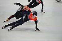 SPEEDSKATING: DORDRECHT: 06-10-2017, Audi ISU World Cup Short  track, ©photo Martin de Jong