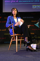 Saturday 24 May 2014, Hay on Wye UK<br /> Pictured: Hilary Heilbron.<br /> Re: The Telegraph Hay Festival, Hay on Wye, Powys, Wales UK.