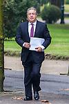 Spanish Minister of the Interior Juan Ignacio Zoido during the prensentation of Rajoy's New Government at Moncloa Palace in  Madrid, Spain. November 04, 2016. (ALTERPHOTOS/Rodrigo Jimenez)