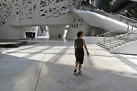 """- Milano, giugno 2018, incomincia l'allestimento del nuovo polo di ricerca scientifica """"Human Technopole"""" nell'ex sito dell'Esposizione Universale Expo 2015, palazzo Italia ed edifici limitrofi<br /> <br /> - Milan, June 2018, begins the setting up of the new scientific research center """"Human Technopole"""" in the former site of the Universal Exposition Expo 2015, Palazzo Italia and neighboring buildings"""