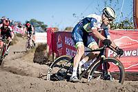 Quinten Hermans (BEL/Tormans - Circus) <br /> <br /> Elite Men's Race<br /> 2021 UCI cyclo-cross World Cup - Zonhoven (BEL)<br /> <br /> ©kramon