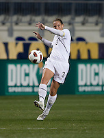 Christie Rampone.  The U.S. tied China, 1-1, during an international friendly at PPL Park in Chester, PA.