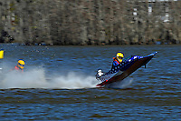 Frame 6: 1-US goes for a wild ride.   (outboard hydroplane)