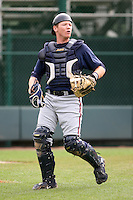 March 22nd 2008:  Matt Kennelly of the Atlanta Braves minor league system during a Spring Training camp day at Disney's Wide World of Sports in Orlando, FL.  Photo by:  Mike Janes/Four Seam Images