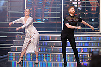 """Audience member and Neil Jones<br /> at the launch of """"Strictly Come Dancing"""" 2018, BBC Broadcasting House, London<br /> <br /> ©Ash Knotek  D3426  27/08/2018"""
