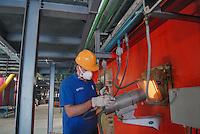 """- ASM (Municipial Services Company ) of Brescia; power station """"waste to energy"""", fed with the city solid waste produces electric power (400 million kilowatt-hour per year) and warm water for the district heating<br /> <br /> - ASM (Azienda Servizi Municipalizzati) di Brescia; centrale elettrica """"termoutilizzatore"""", alimentata con i rifiuti solidi urbani  produce energia elettrica (400 milioni di kilowattora all'anno) e calore per il teleriscaldamento"""