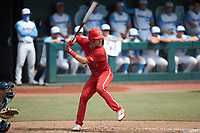 Tyler McDonough (13) of the North Carolina State Wolfpack at bat against the North Carolina Tar Heels at Boshamer Stadium on March 27, 2021 in Chapel Hill, North Carolina. (Brian Westerholt/Four Seam Images)