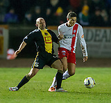 17.02.2015  Berwick Rangers v Spartans, Scottish Cup 5th Round Replay  ..................   COLIN CAMERON AND ALAN BROWN