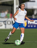 19 July 2009: Erika Sutton of Boston Breakers in action during the game against FC Gold Pride at Buck Shaw Stadium in Santa Clara, California.   Boston Breakers defeated FC Gold Pride, 1-0.