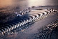 Water sking aerial.