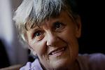 Foto: VidiPhoto..BULAWAYO - Portret van Jean Webster, directeur van de Zimbabwaanse hulpverleningsorganisatie ZOE.