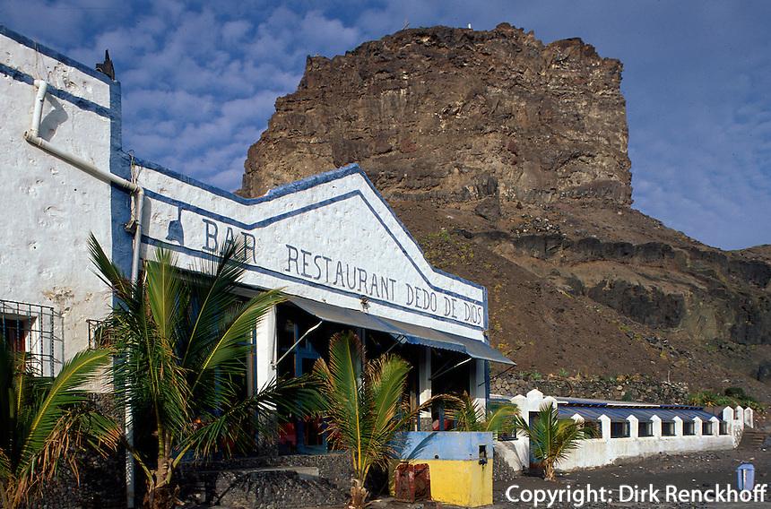 Spanien, Kanarische Inseln, Gran Canaria, Puerto de las Nieves, Restaurant