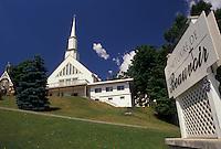 AJ2938, Sherbrooke, shrine, Quebec, Canada, Beauvoir Shrine in Sherbrooke in the Province of Quebec, Canada.
