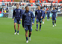 Pictured: Saturday 17 September 2011<br /> Re: Premiership football Swansea City FC v West Bromwich Albion at the Liberty Stadium, south Wales.
