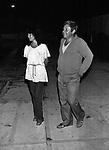 """PAOLO VILLAGGIO<br /> FESTA FILM """"KOLOSSAL"""" AL MIRAGGIO CLUB FREGENE  1977"""