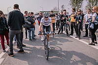 Marta Bastianelli (ITA/Team Virtu Cycling) wins the 16th Ronde Van Vlaanderen<br /> <br /> Elite Womans Race (1.WWT)<br /> <br /> One day race from Oudenaarde to Oudenaarde<br /> ©Jojo Harper for Kramon