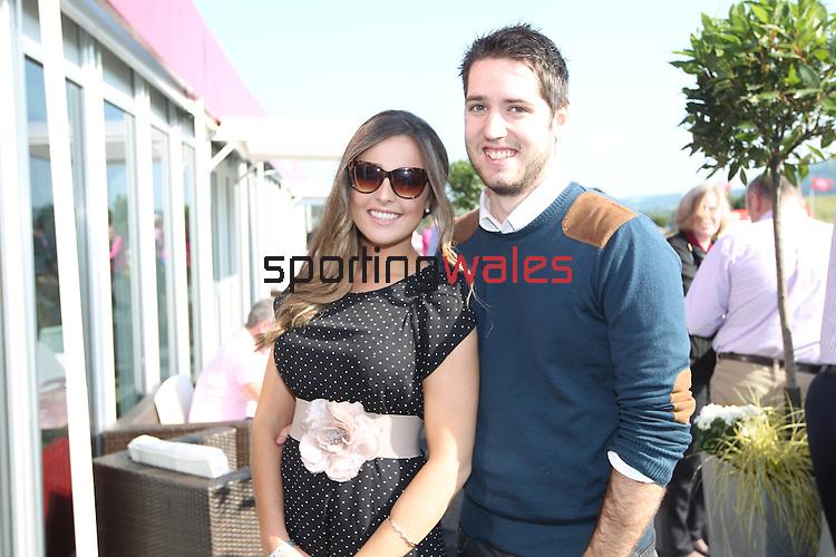 ISPS Handa Wales Open<br /> Emma Willmott & Sam Gibson<br /> Celtic Manor Resort<br /> 21.09.14<br /> ©Steve Pope-SPORTINGWALES
