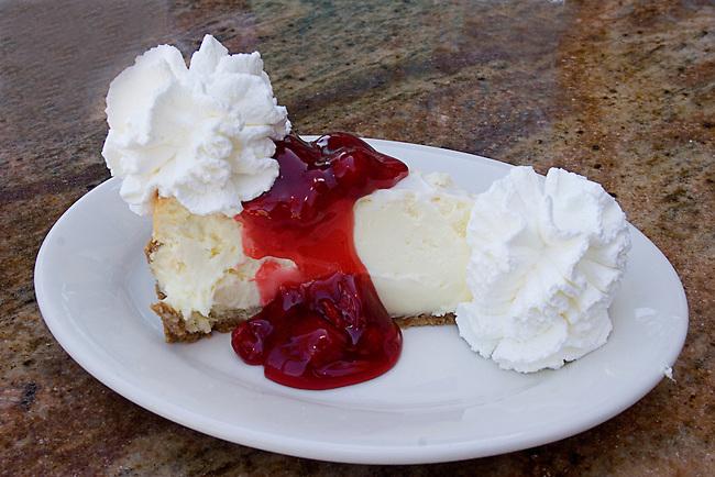 Cherry Cheesecake, Cheesecake Factory Restaurant, Mall at the Millenia, Orlando, Florida