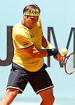 David Ferrer during Madrid Open Tennis 2015 match.May, 6, 2015.(ALTERPHOTOS/Acero)