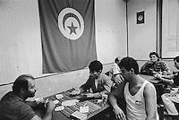 - club of fishermen immigrated from Tunisia in Mazara del Vallo....- circolo dei pescatori immigrati tunisini a Mazara del Vallo