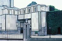 Josef Hoffman: Palais Stoclet, Brussels. Photo '87.