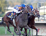 September 22, 2012. My Miss Aurelia, ridden by Corey Nakatani and trained by Steve Asmussen, wins the 43rd running of the Grade 1 Cotillion Stakes at Parx Racing on Cotillion/PA Derby Day. (Joan Fairman Kanes/Eclipse Sportswire)September 22, 2012. My Miss Aurelia, ridden by Corey Nakatani and trained by Steve Asmussen, wins the 43rd running of the Grade 1 Cotillion Stakes at Parx Racing on Cotillion/PA Derby Day. (Joan Fairman Kanes/Eclipse Sportswire)