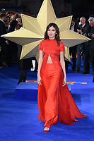 "Gemma Chan<br /> arriving for the ""Captain Marvel"" European premiere at the Curzon Mayfair, London<br /> <br /> ©Ash Knotek  D3484  27/02/2019"