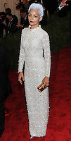 """NEW YORK, NY - MAY 06: Nicole Richie arrives at the """"PUNK: Chaos To Couture"""" Costume Institute Gala held at the Metropolitan Museum of Art on May 6, 2013 in New York City. (Photo by Celebrity Monitor)"""