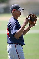 March 21st 2008:  Concepcion Rodriguez of the Atlanta Braves minor league system during Spring Training at Tiger Town in Lakeland, FL.  Photo by:  Mike Janes/Four Seam Images