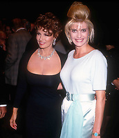 Raquel Welch Ivana Trump 1990 <br /> Photo by Adam Scull/PHOTOlink