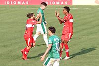 Campinas (SP), 10/10/2020 - Guarani-CRB - Diego Reis comemora o primeiro gol do CRB. Partida entre Guarani e CRB válida pela 15. rodada do Campeonato Brasileiro da Série B no estádio Brinco de Ouro em Campinas, interior de São Paulo, neste sábado (10).