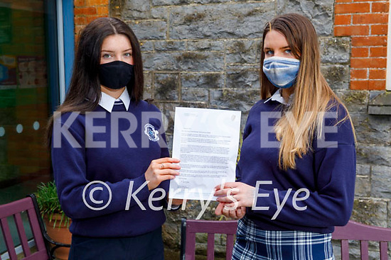 """Joanna Moynihan and Fiona Brosnan who are after receiving fa letter from the Minister of Education Norma Foley TD and its following the """"Safer Internet Day"""" and they are members of the Webwise Youth Advisory Panel and they received a lovely letter for their participation in it. There was 35 in Ireland and 2 of which are from Castleisland"""