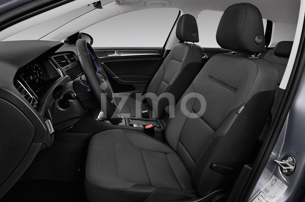 Front seat view of a 2017 Volkswagen E-Golf SE 5 Door Hatchback front seat car photos