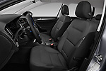 Front seat view of a 2017 Volkswagen E-Golf SE 5 Door Hatchback front seat car photos