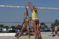 Saturday, May 3 2008, Ocean Beach, California, USA.  West Coast Beach Volleyball Tournament  Images taken during play at the West Coast Volleyball Tournament.