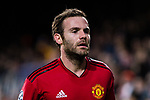 Juan Mata of Manchester United in action during the UEFA Champions League 2018-19 match between Valencia CF and Manchester United at Estadio de Mestalla on December 12 2018 in Valencia, Spain. Photo by Maria Jose Segovia Carmona / Power Sport Images