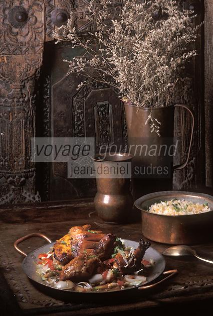 """Asie/Singapour/Singapour: Poulet Tandoori au restaurant """"Kinara"""""""