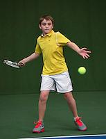 20131201,Netherlands, Almere,  National Tennis Center, Tennis, Winter Youth Circuit, Daniel Bernard   <br /> Photo: Henk Koster