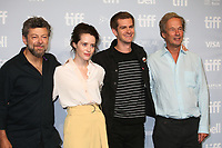 DIRECTOR ANDY SERKIS, CLAIRE FOY, ANDREW GARFIELD AND PRODUCER - PHOTOCALL OF THE FILM 'BREATHE' - 42ND TORONTO INTERNATIONAL FILM FESTIVAL 2017