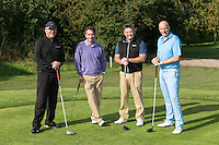 Team Riverfall Financial - Pictured from left are John O' Malley, Simon Phippen, Mark Peters and Anthony Clark