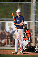 Andrew Bennett during the WWBA World Championship at the Roger Dean Complex on October 18, 2018 in Jupiter, Florida.  Andrew Bennett is an outfielder from Kennesaw, Georgia who attends Mt Paran Christian High School.  (Mike Janes/Four Seam Images)