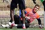 Getafe CF's Diego Conde during training session. August 6, 2021.(ALTERPHOTOS/Acero)